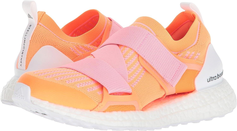 adidas by Stella McCartney Women's Ultra Boost X Sneakers B078ZJJPKP 8.5 B(M) US|Glow Orange S14/Hyper Pop F12/Core Black