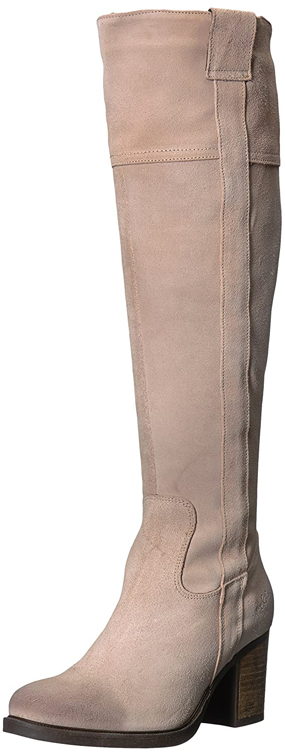 Bos. & Co.. Women's Horton Knee High Boot B06WW7TSRM 38 M EU (7.5-8 US)|Nude Oil Suede
