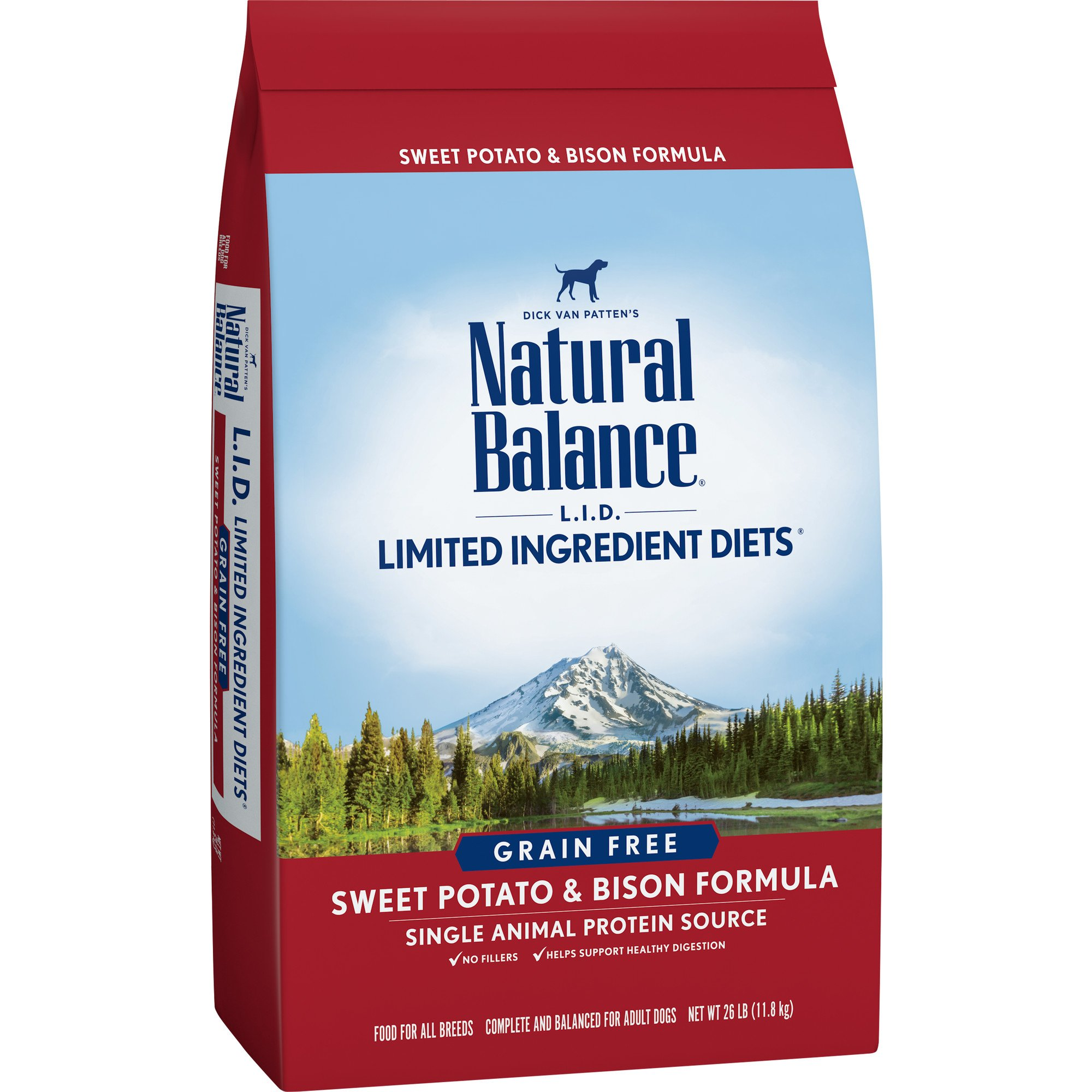 Natural Balance Limited Ingredient Diets Dry Dog Food - Sweet Potato & Bison Formula