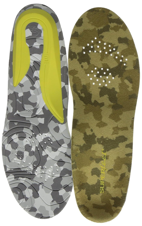 Superfeet Trail Cool Comfort Premium Hunting Insoles B014PBBVLQ Small/C: 6.5 - 8 US Womens/5.5 - 7 US Mens C/D US Coyote Camo