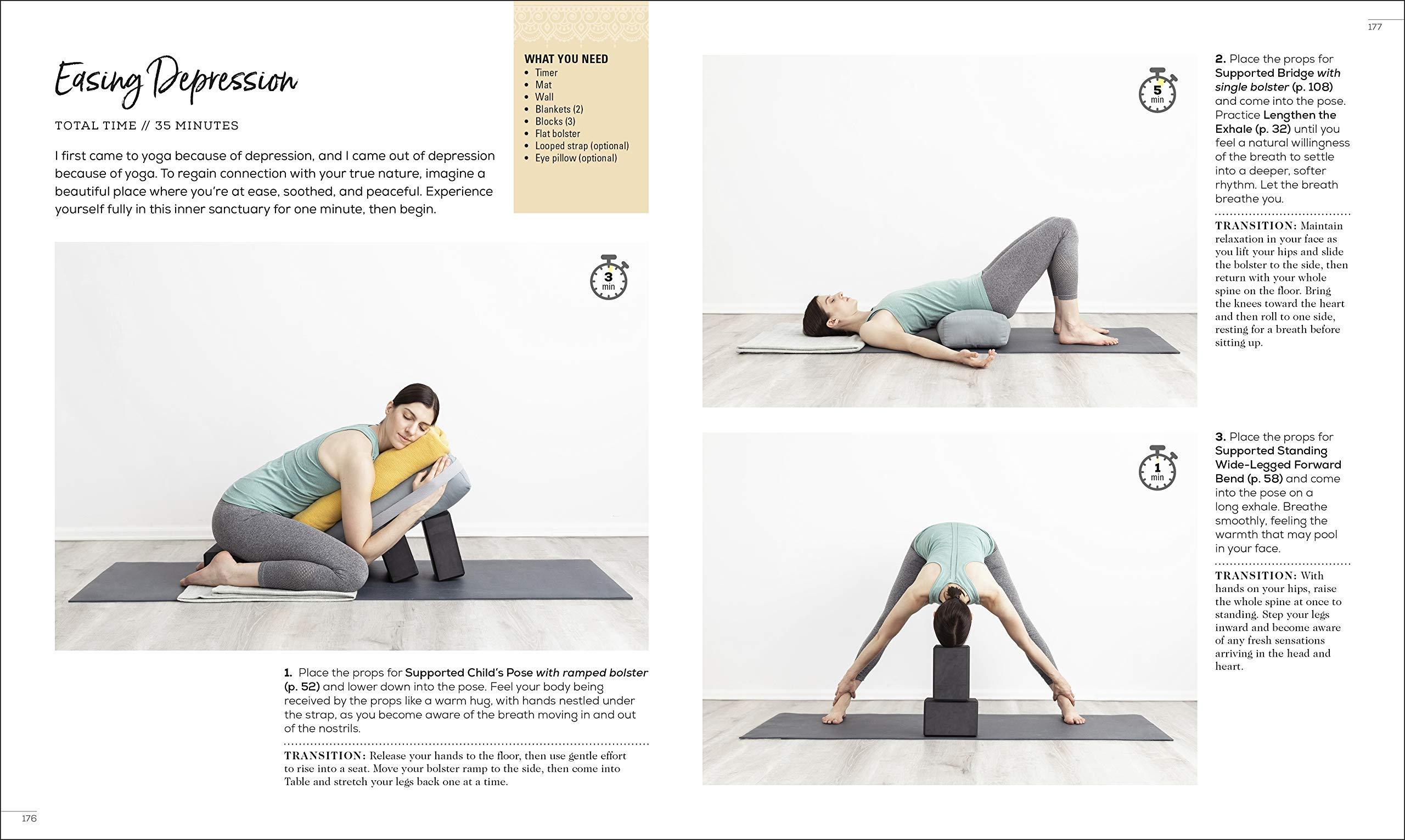 Restorative Yoga Relax. Restore. Re energize.  Baginski ...