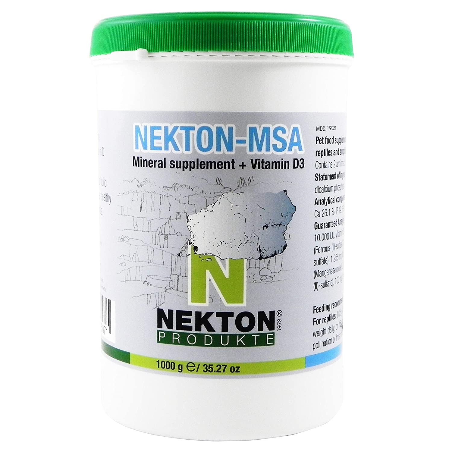 Nekton MSA High-Grade Mineral Supplement for Pets 1000g