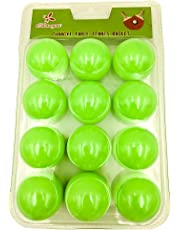 Table Tennis Balls - Ping Pong - Beer Pong - Party Balls - 12 Pack - Various Colours