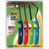 Bic Multi-purpose Lighter, Classic & Flex Wand, 4 Pack