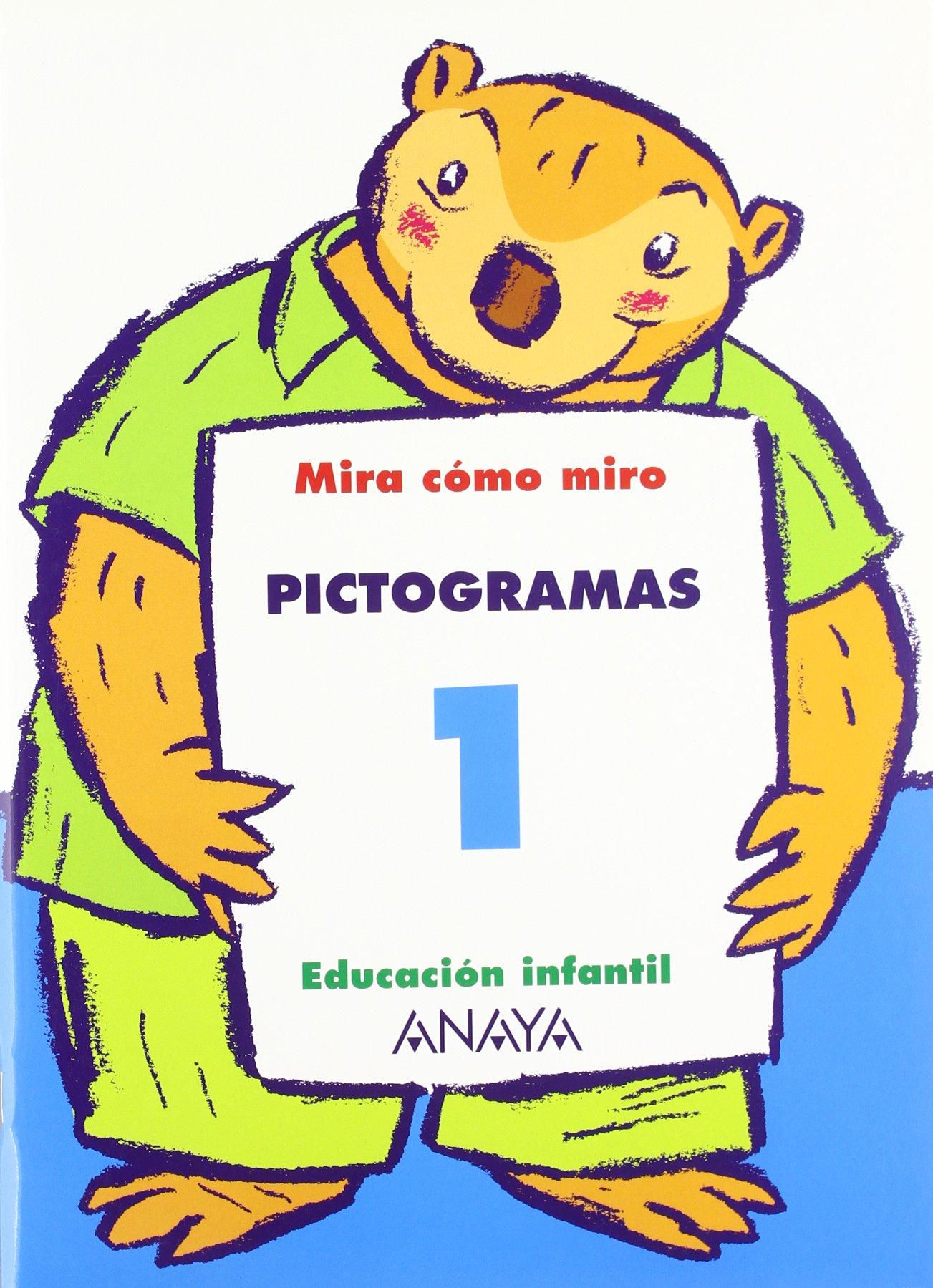 Pictogramas 1. - 9788466750455: Amazon.es: Anaya Educación: Libros