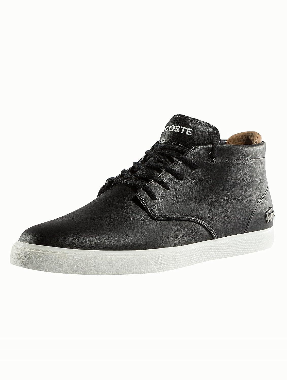 Lacoste Herren Schuhe/Sneaker Espere Chukka 417 1 QSP CamLacoste Sneaker High Größe Schwarz