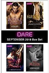 Harlequin Dare September 2018 Box Set: My Royal Hook-Up\Sins of the Flesh\Hard Deal\Legal Passion Kindle Edition