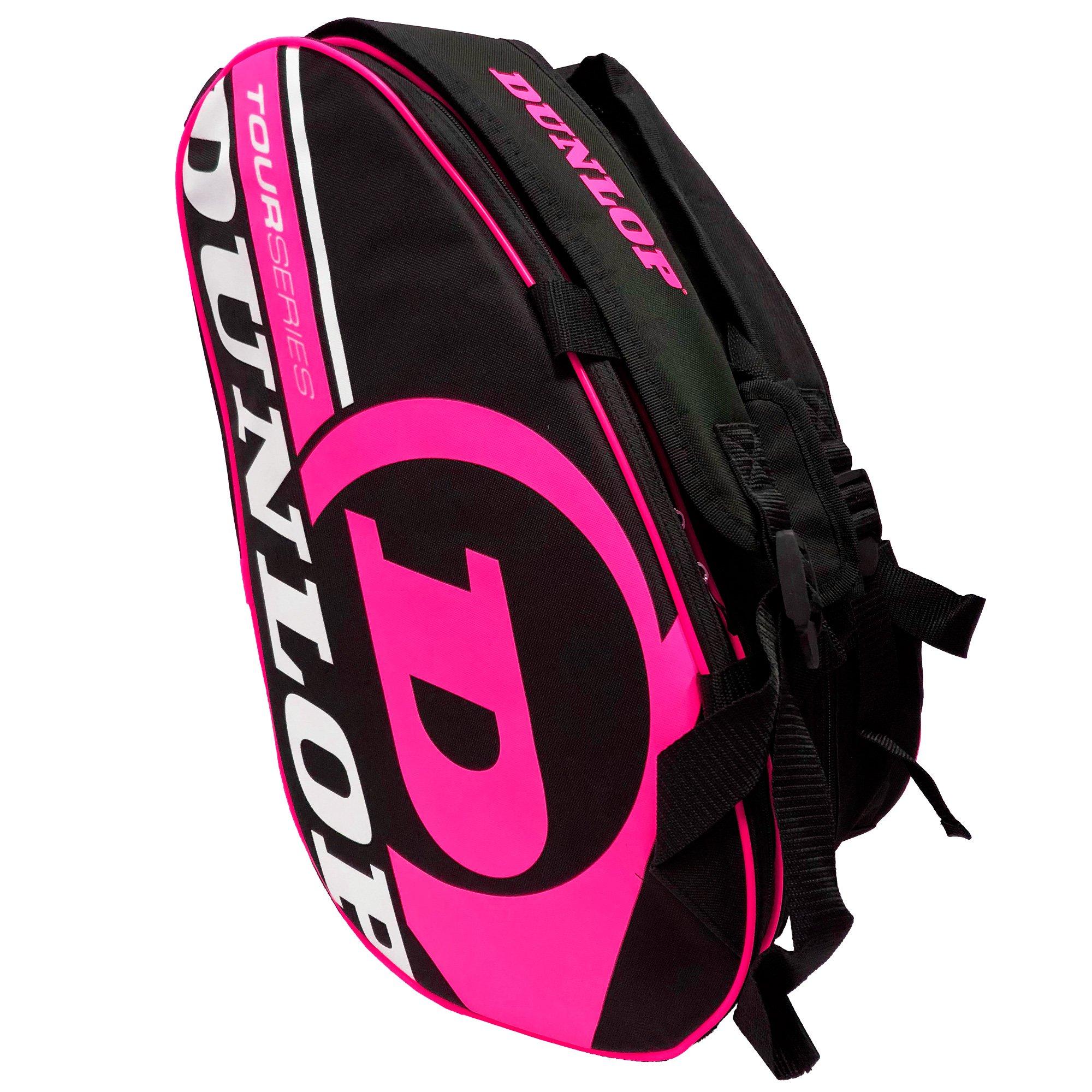 Paletero de pádel Dunlop Tour Intro Negro / Rosa Flúor product image