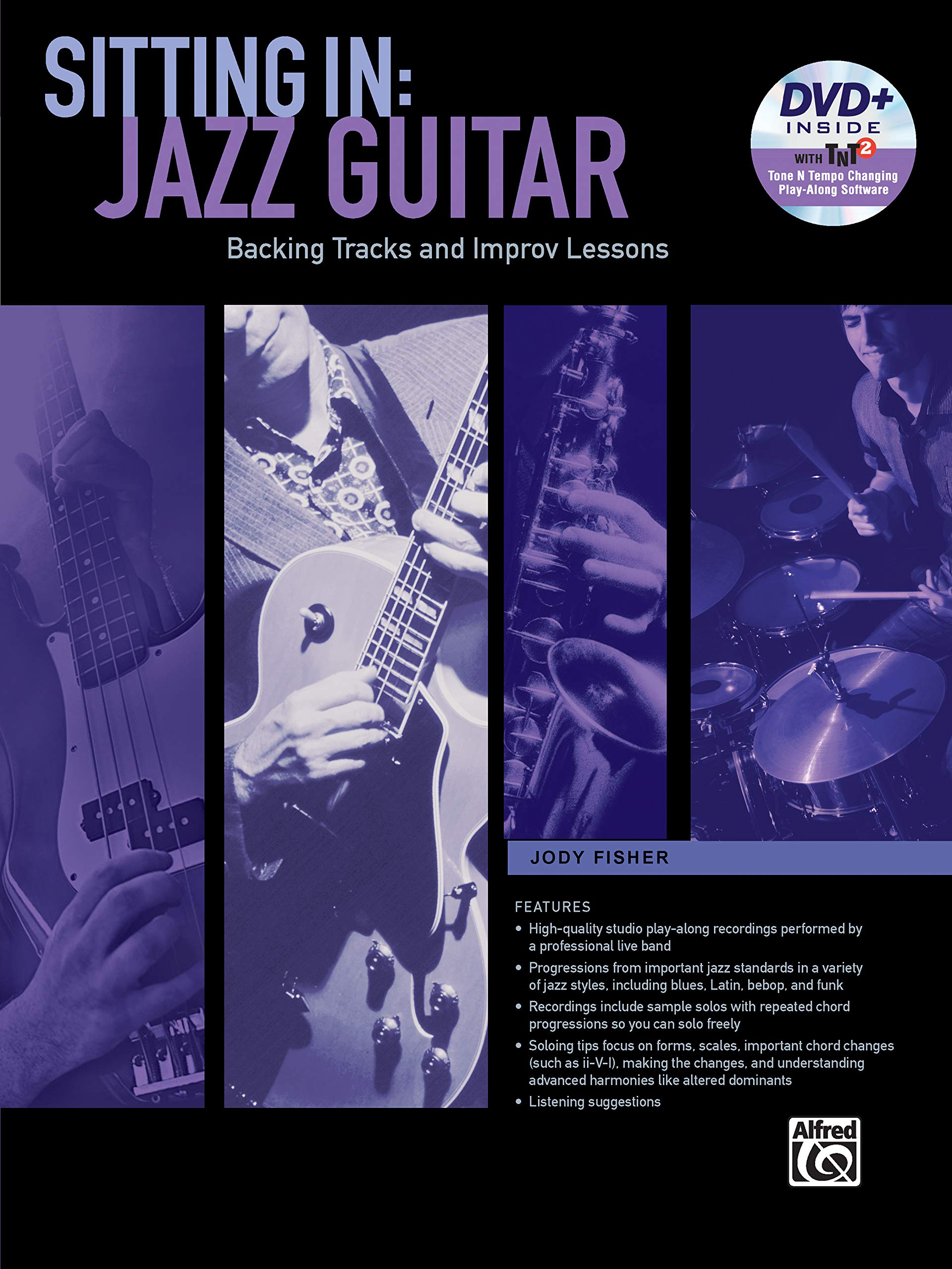 Sitting in -- Jazz Guitar: Backing Tracks and Improv Lessons, Book ...