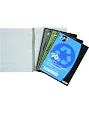 Hilroy Recycled Coil 1-Subject Notebook, College Ruled, 10-1/2 X 8 Inches, 90 Pages (13040)