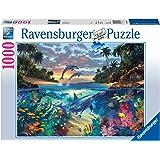 Ravensburger - Bahia de Corales Rompecabeza de 1000 Piezas, Multicolor, 19145