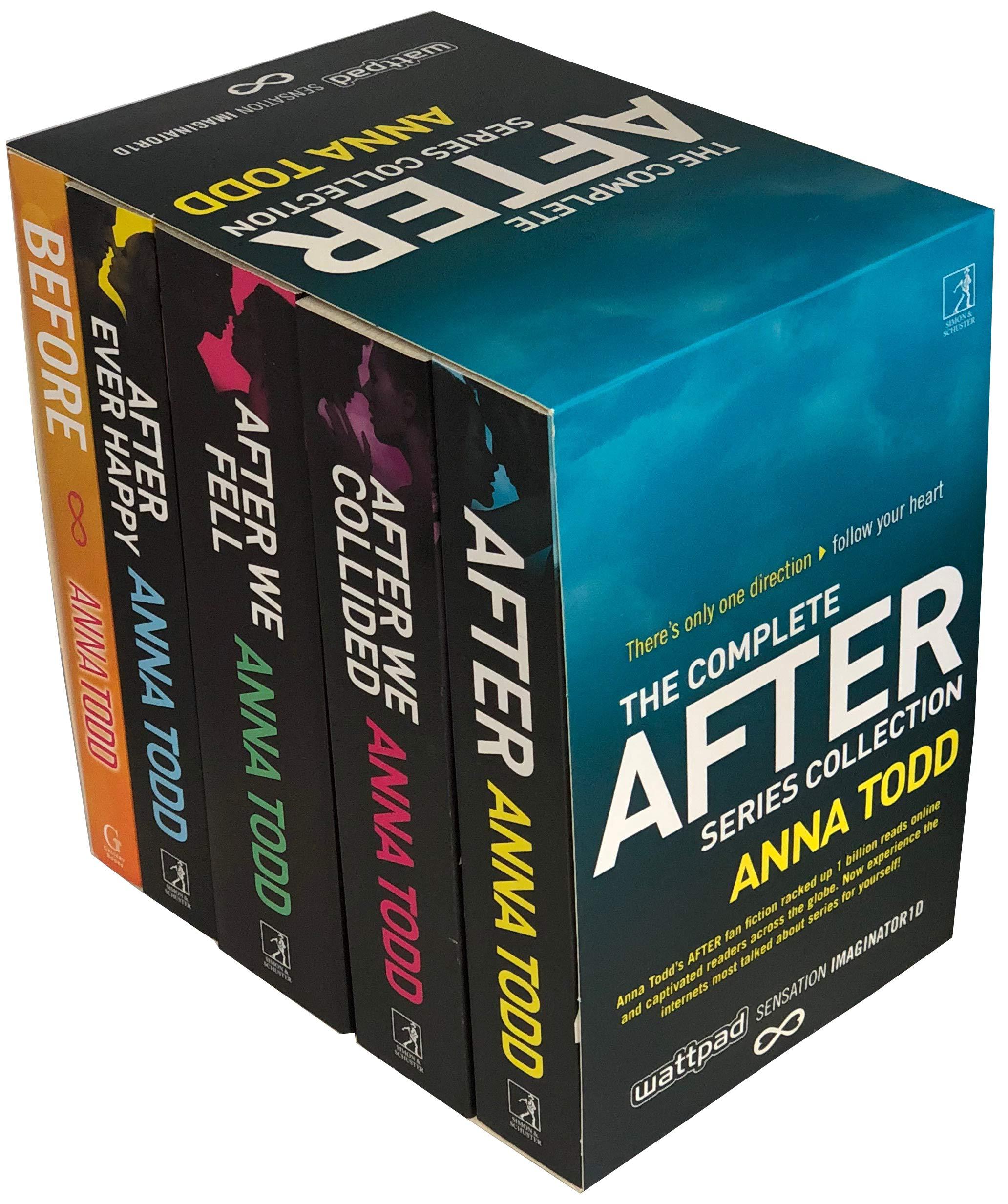 The After Series Slipcase Set: Amazon.es: Todd, Anna: Libros ...