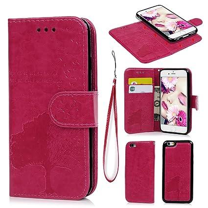 Sweepstake iphone 8 plus case wallet pink