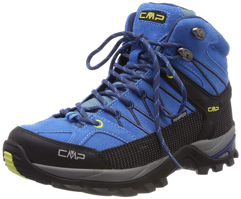 Turquoise (Indigo-marine 02lc) 42 EU CMP Rigel Mid, Chaussures de Trekking et randonnée Homme