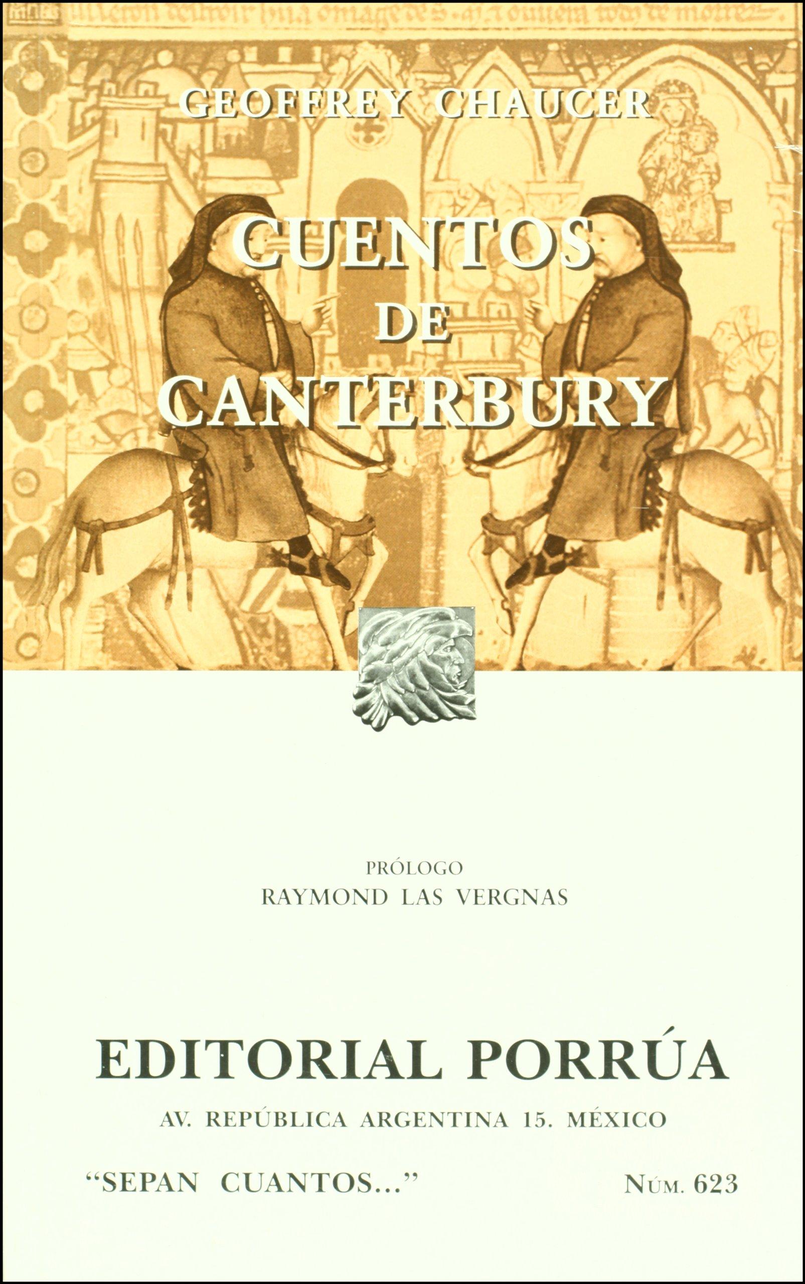 CUENTOS DE CANTERBURY (Spanish Edition)