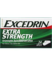 Excedrin Pain Relief Caplets, Extra Strength 24 Ea