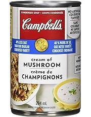 Campbell's 40% Less Sodium Cream of Mushroom Soup, 284ml