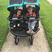 Amazon Com Baby Trend Navigator Double Jogger Stroller