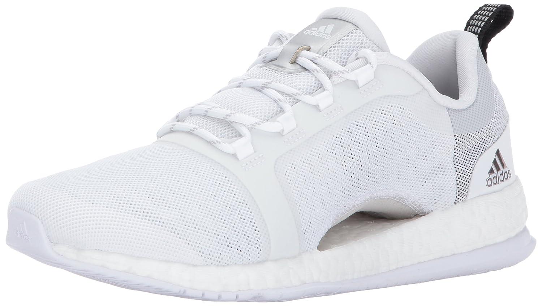 adidas Women's Pureboost X Tr 2 Running Shoe B01MYZRUED (7.5 M US)|White/Metallic Silver/Black