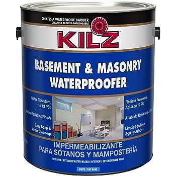 Kilz Interior Exterior Basement And Masonry Waterproofing