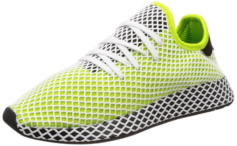 Adidas Deerupt Runner Semi Solar Slime schwarz schwarz Semi Solar Slime schwarz schwarz