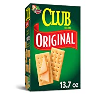 Keebler Club Original Crackers - Delicious Party Food and Appetizers, Kosher (13.7...