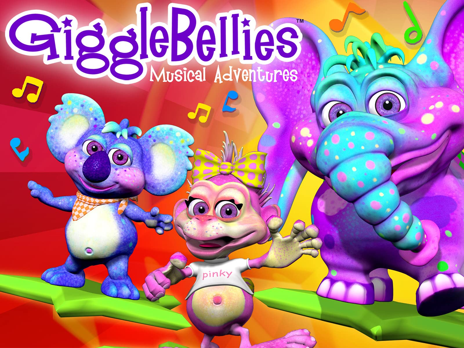 The Gigglebellies: Musical Adventures