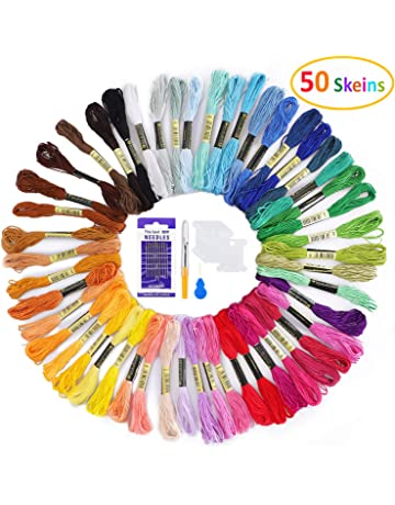 Bargain 150 Silk Rayon Stranded Skeins Embroidery Thread 150 Beautiful colours