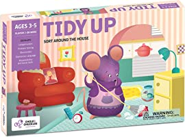 Chalk and Chuckles Tidy Up - Preschooler, Sorting and Organising Activity Game for Kids 4 to 6 Years Old, Learn...