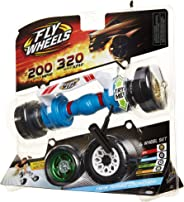 Fly Wheels Twin Turbo Launcher- Rip it up to 200 Scale MPH, Fast Speed, Amazing Stunts & Jumps up to 30 feet! All Terrain Ac