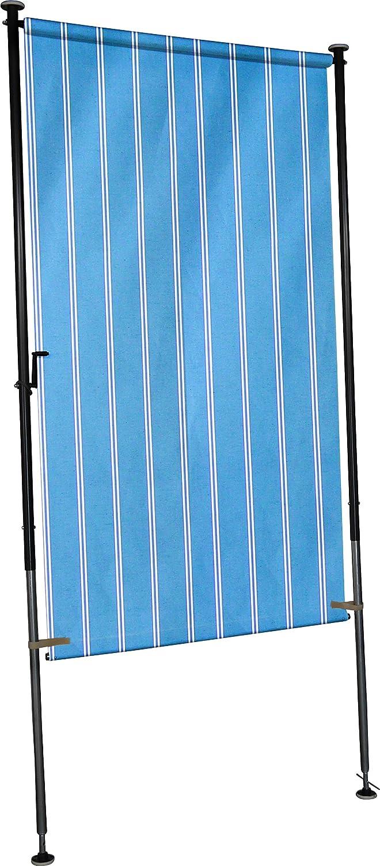 Angerer Balkon Sichtschutz Nr. 9400 blau, 270 x 120 x 275 cm, breit, 2316 9400