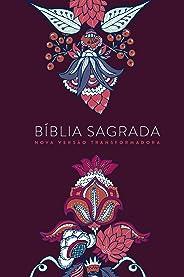BÍBLIA NVT LG ST - INDIAN FLOWERS VINHO