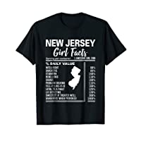 Born in New Jersey - New Jersey Girl Facts T-Shirt