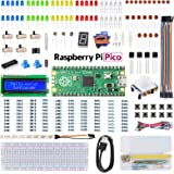 SunFounder Raspberry Pi Pico Basic Starter Kit with Detailed Online Tutorials, One-Stop Learning Electronics and Programming