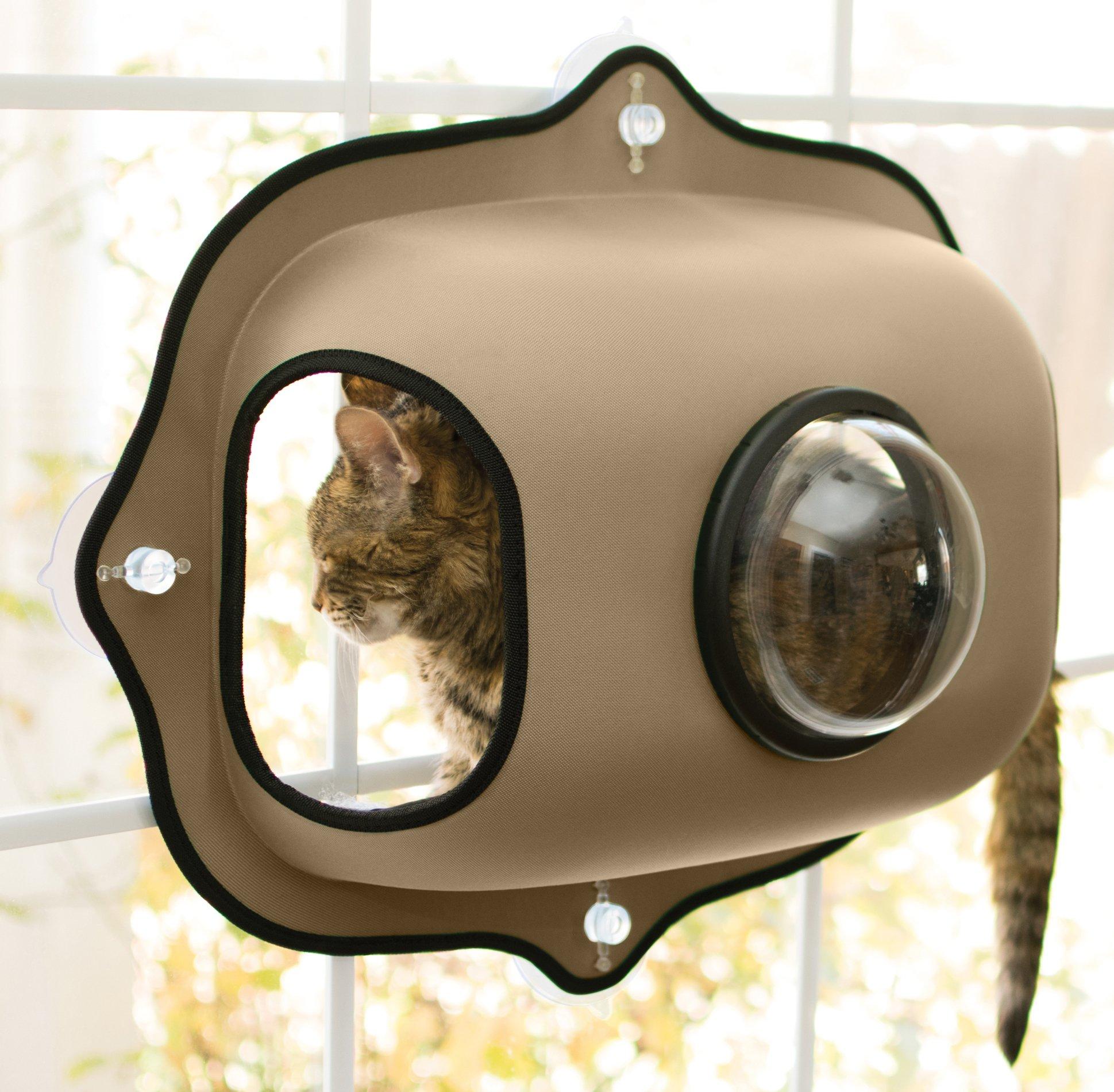 "K&H Pet Products EZ Mount Window Bubble Pod 27"" x 20"" x 6"" - Features Look Out Bubble Window product image"