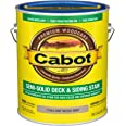 Cabot 140.0017444.007 Semi-Solid Deck & Siding Low VOC Stain, Gallon, Driftwood Gray