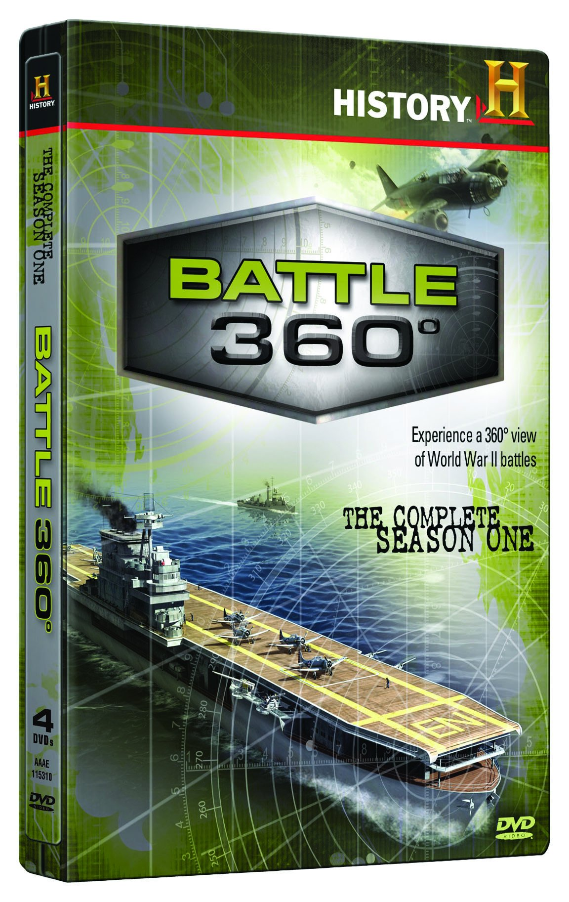 DVD : Battle 360: The Complete Season One (4 Disc)