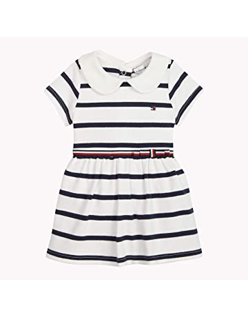 b77c5aba9 Tommy Hilfiger Girls' Baby Rugby Stripe Dress ...