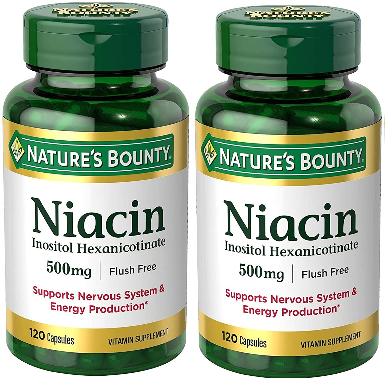 Niacin and thc