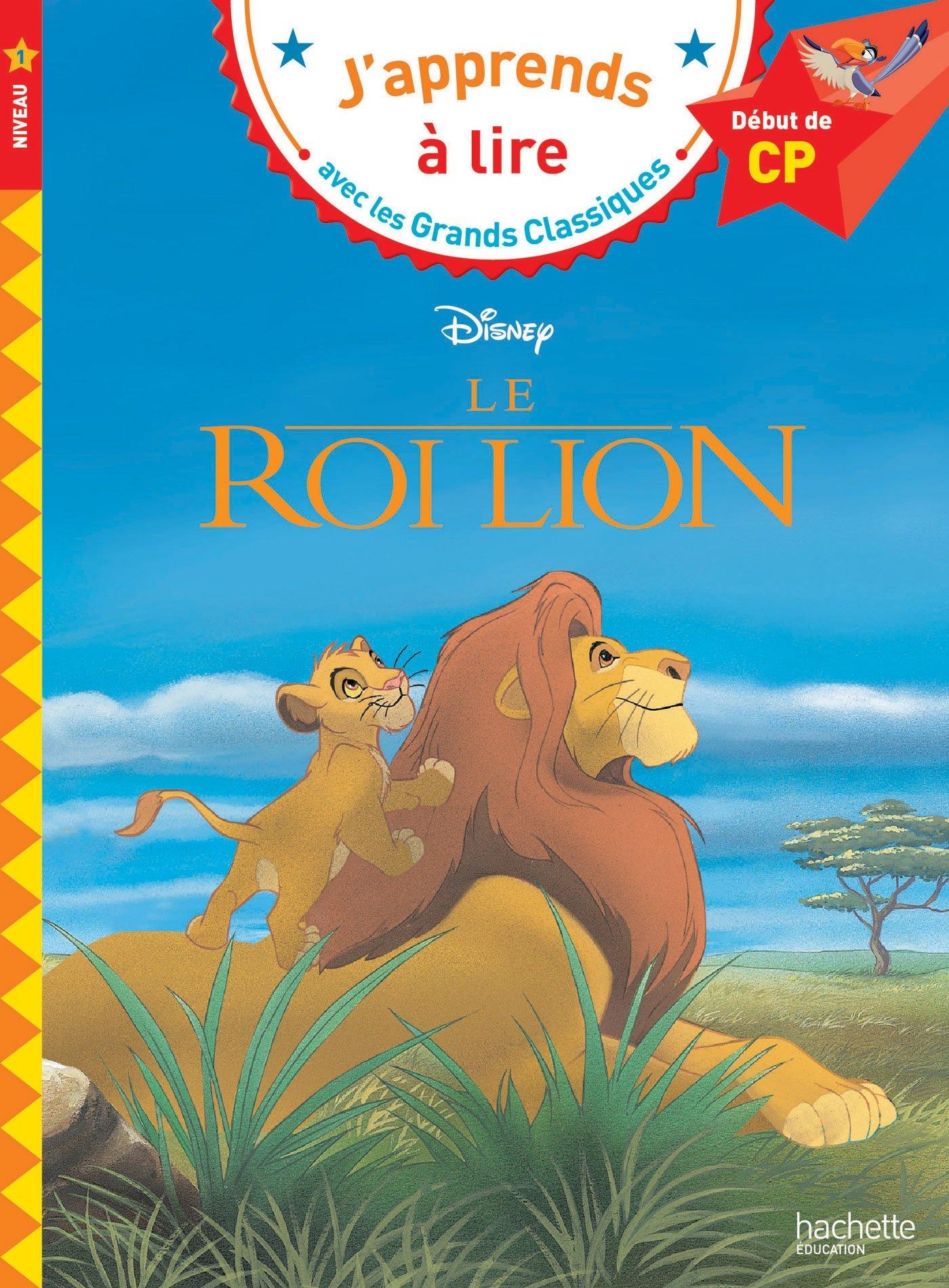 Le Roi Lion CP Niveau 1: Le roi lion (CP 1) (Disney): Amazon ...