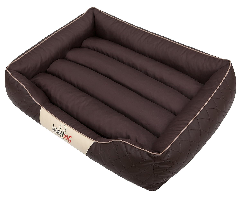 HOBBYDOG Cesarean Standard Dog Bed, Size 5, Brown