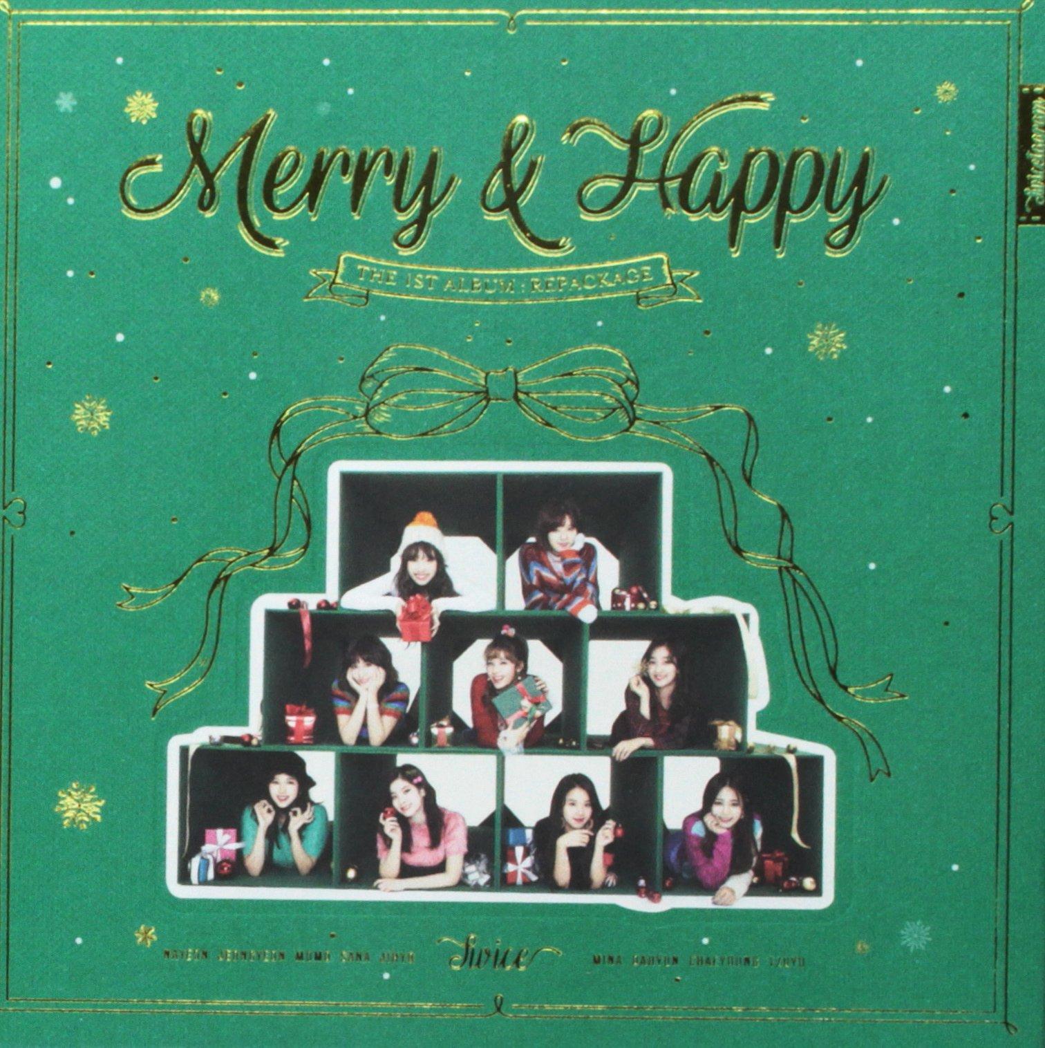 CD : Twice - Merry & Happy (Vol 2) (Asia - Import)