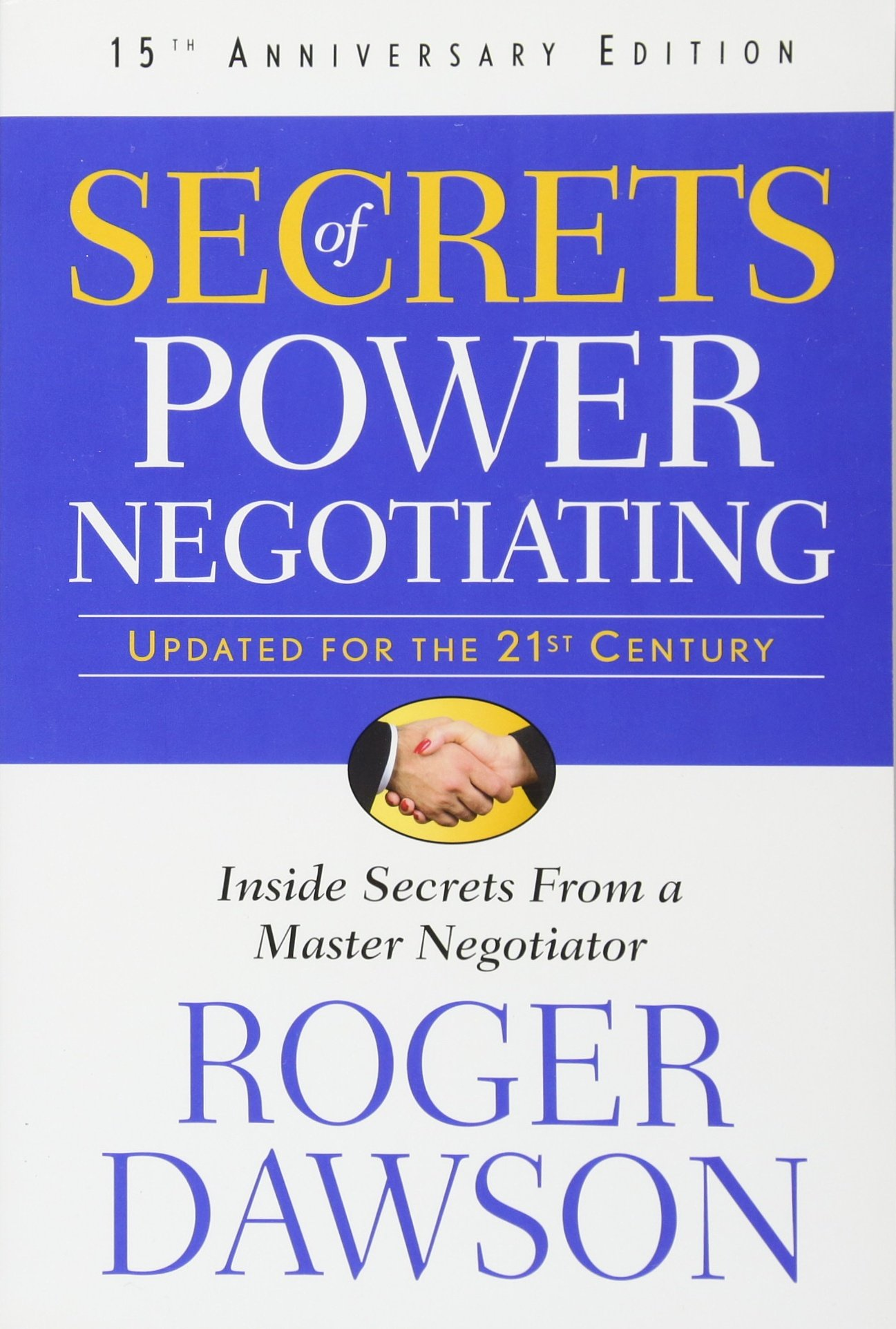 SECRETS OF POWER NEGOTIATING PDF