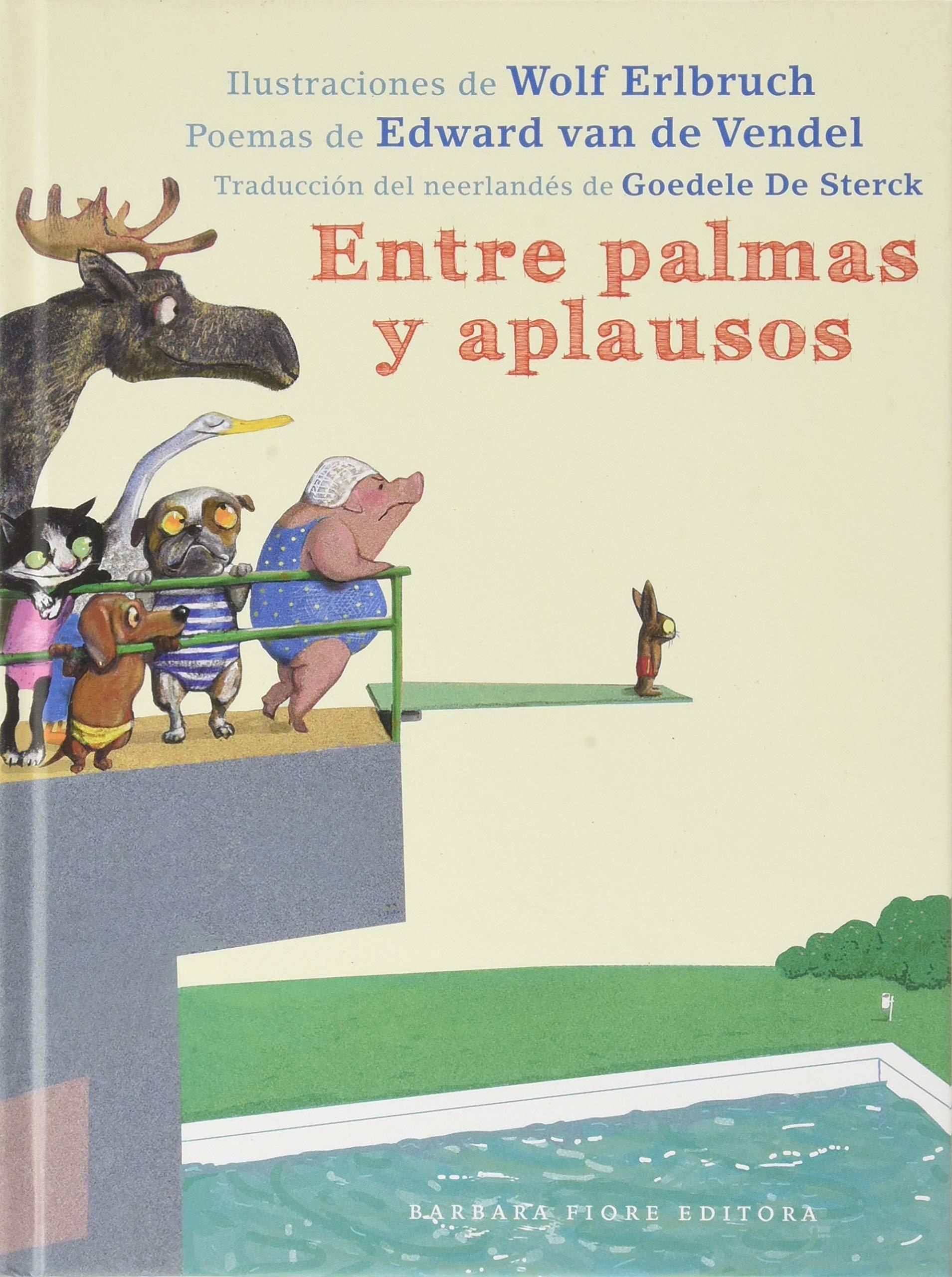 Entre palmas y aplausos - Libros de poesia infantil ilustrada
