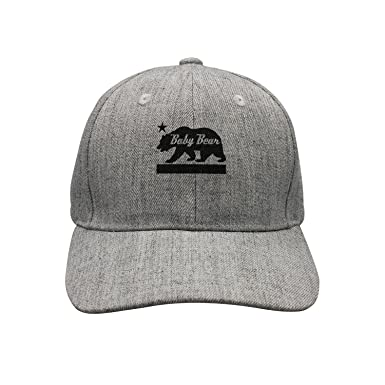 38a2659d4c99f ... canada hswtrht wetr outdoor hat california bear family baby bear  snapback baseball cap for unisex 2c66e