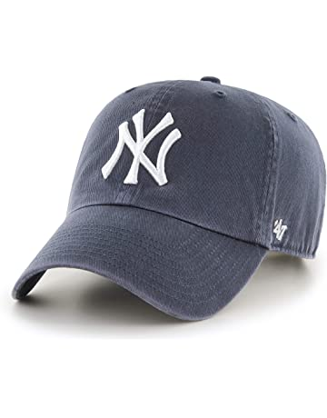 88118d0da 47 Brand New York Yankees Clean Up MLB Dad Hat Cap Blue, One Size