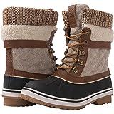 GLOBALWIN Women's Waterproof Winter Snow Boots