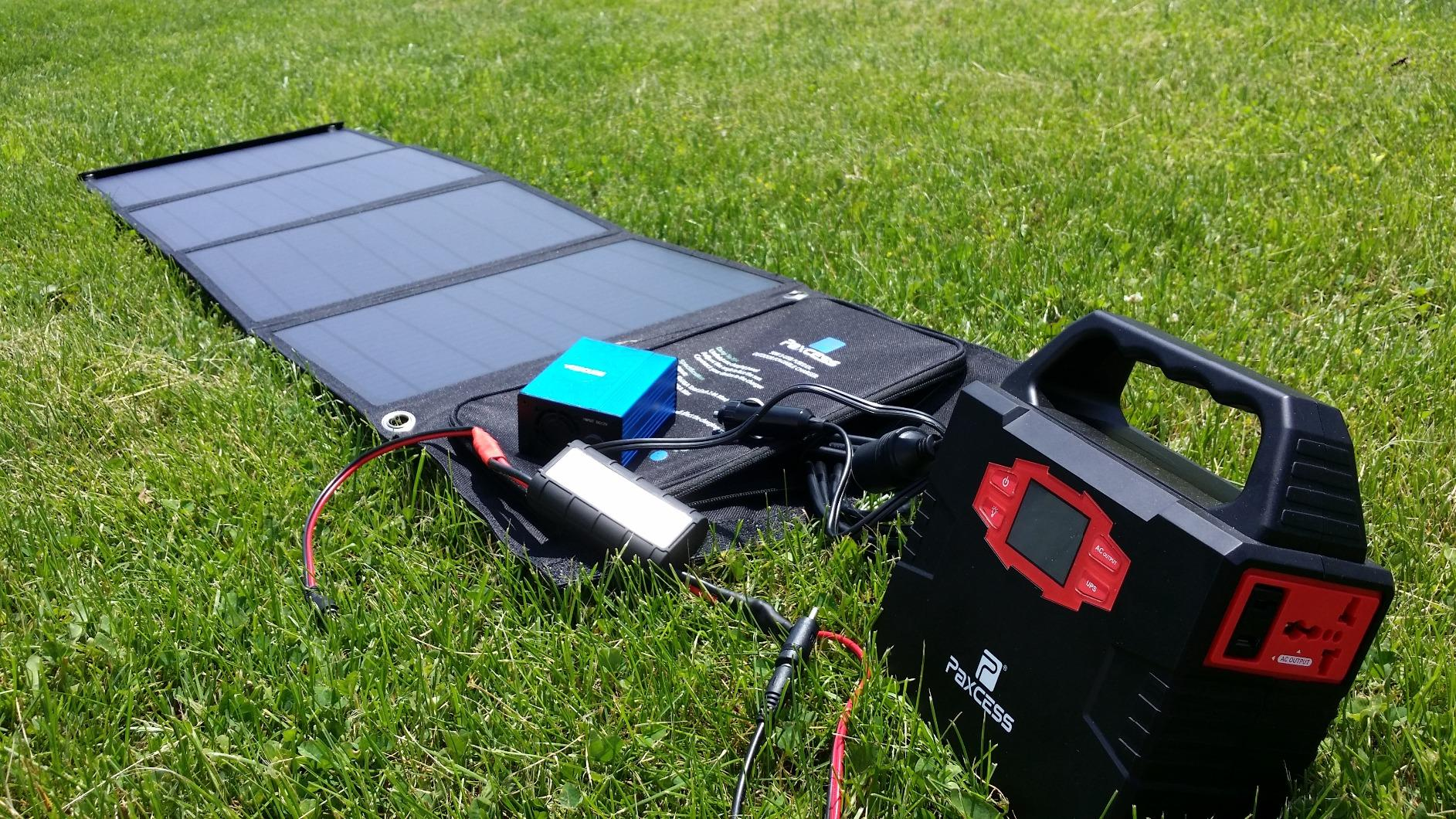 The Paxcess 50W portable solar generator. Just like the other models of Solar generator supplies i have tried,this one definitely hasn't disappointed me!