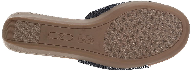 Aerosoles Women's Sunflower Slide Sandal B078WDVHWM 8 M US|Denim