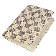 Daisy Rose Luxury Passport Holder Cover Case | PU Vegan Leather RFID Travel Organizer Card Holder